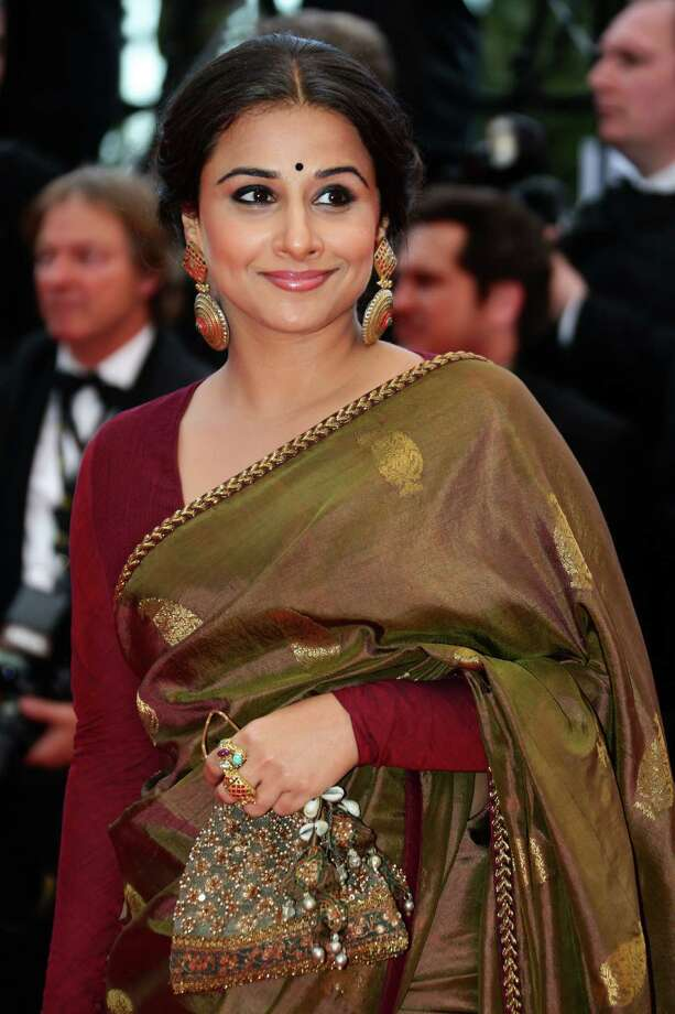 Jury member Vidya Balan attends the 'Bombay Talkies' Premiere at Palais des Festivals during The 66th Annual Cannes Film Festival on May 19, 2013 in Cannes, France. Photo: Vittorio Zunino Celotto, Getty Images / 2013 Getty Images