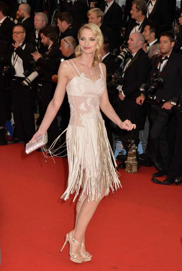 Sarah Marshall attends the Opening Ceremony and Premiere of 'The Great Gatsby' at The 66th Annual Cannes Film Festival at Palais des Festivals on May 15, 2013 in Cannes, France.  (Photo by Foc Kan/FilmMagic) Photo: Foc Kan, Getty Images / 2013 Foc Kan