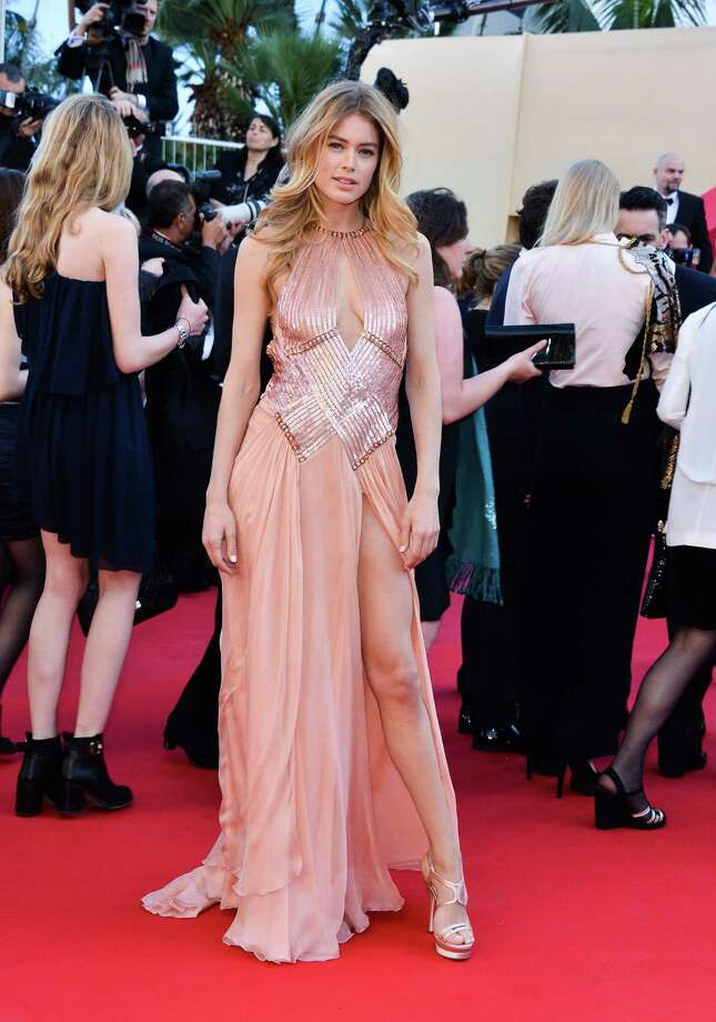 Model Doutzen Kroes attends the Premiere of 'Le Passe' (The Past) at The 66th Annual Cannes Film Festival on May 17, 2013 in Cannes, France.  (Photo by George Pimentel/WireImage) Photo: George Pimentel, Getty Images / 2013 George Pimentel