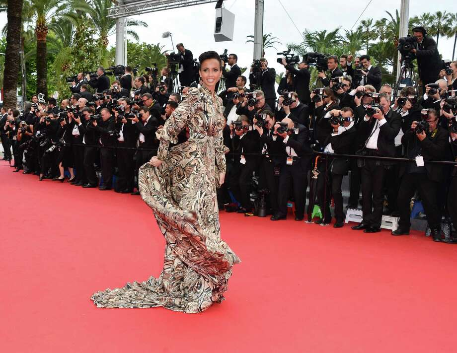 Actress Sonia Rolland attends the Premiere of 'Jeune & Jolie' (Young & Beautiful) at The 66th Annual Cannes Film Festival at Palais des Festivals on May 16, 2013 in Cannes, France.  (Photo by George Pimentel/WireImage) Photo: George Pimentel, Getty Images / 2013 George Pimentel