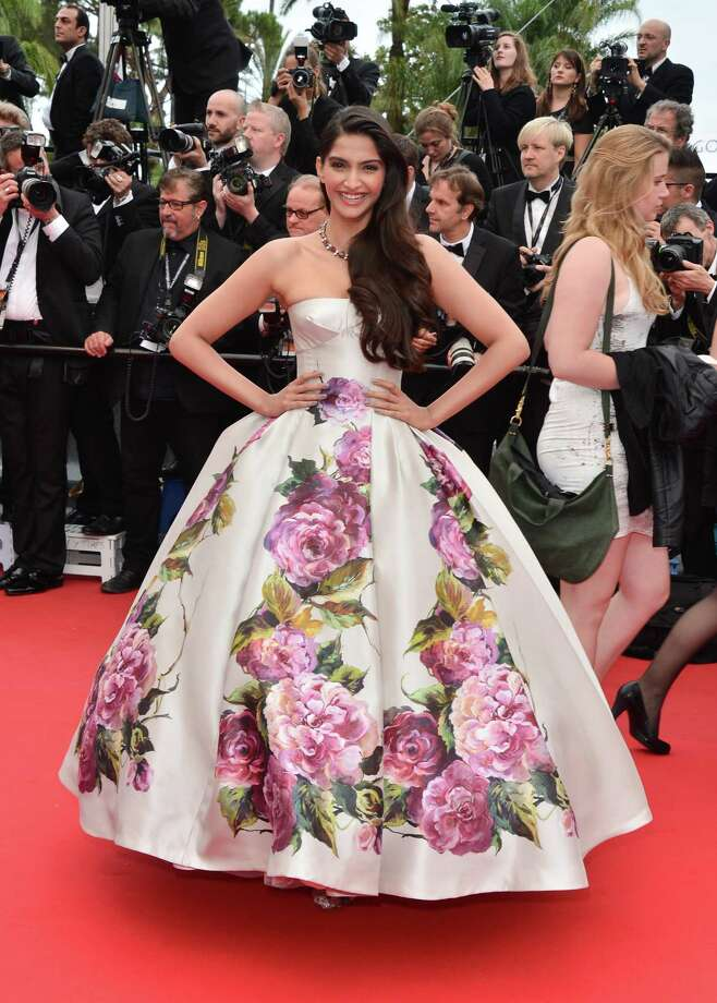 Actress Sonam Kapoor attends the Premiere of 'Jeune & Jolie' (Young & Beautiful) at The 66th Annual Cannes Film Festival at Palais des Festivals on May 16, 2013 in Cannes, France.  (Photo by George Pimentel/WireImage) Photo: George Pimentel, Getty Images / 2013 George Pimentel