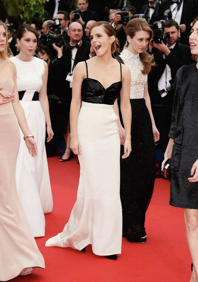 Actress Emma Watson attends the Premiere of 'The Bling Ring' at The 66th Annual Cannes Film Festival at Palais des Festivals on May 16, 2013 in Cannes, France.  (Photo by Venturelli/WireImage) Photo: Venturelli, Getty Images / 2013 Venturelli