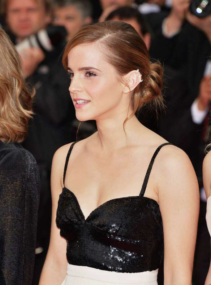 Actress Emma Watson attends the Premiere of 'The Bling Ring' at The 66th Annual Cannes Film Festival at Palais des Festivals on May 16, 2013 in Cannes, France.  (Photo by Dominique Charriau/WireImage) Photo: Dominique Charriau, Getty Images / 2013 Dominique Charriau