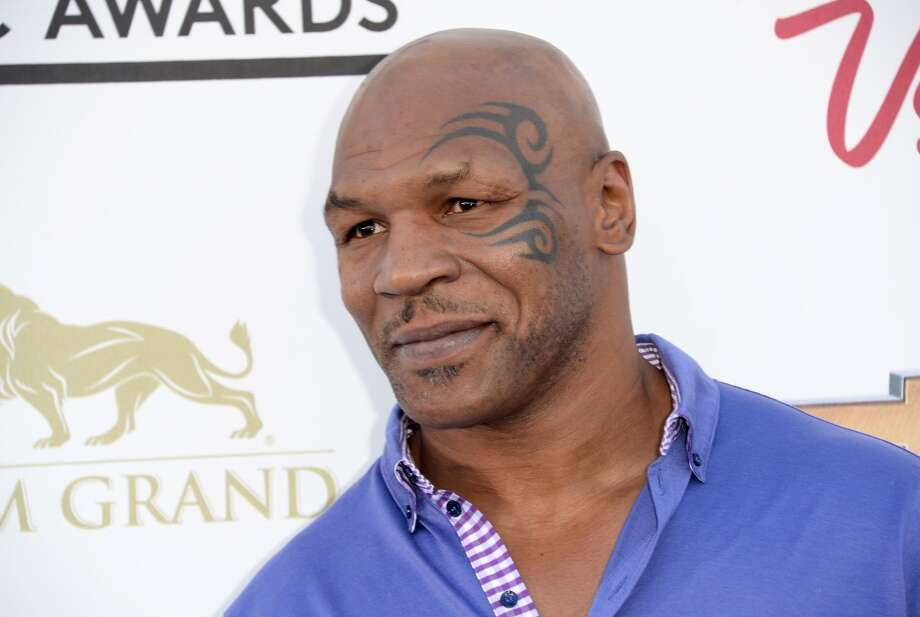 LAS VEGAS, NV - MAY 19:  Mike Tyson arrives at the 2013 Billboard Music Awards at the MGM Grand Garden Arena on May 19, 2013 in Las Vegas, Nevada.  (Photo by Jason Merritt/Getty Images)