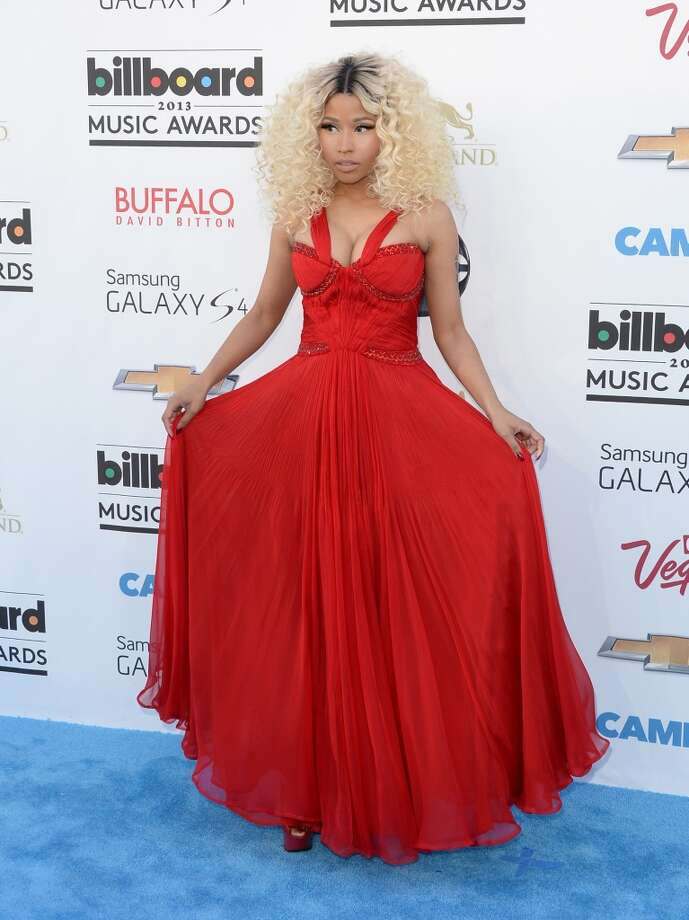 LAS VEGAS, NV - MAY 19:  Singer Nicki Minaj arrives at the 2013 Billboard Music Awards at the MGM Grand Garden Arena on May 19, 2013 in Las Vegas, Nevada.  (Photo by Jason Merritt/Getty Images)