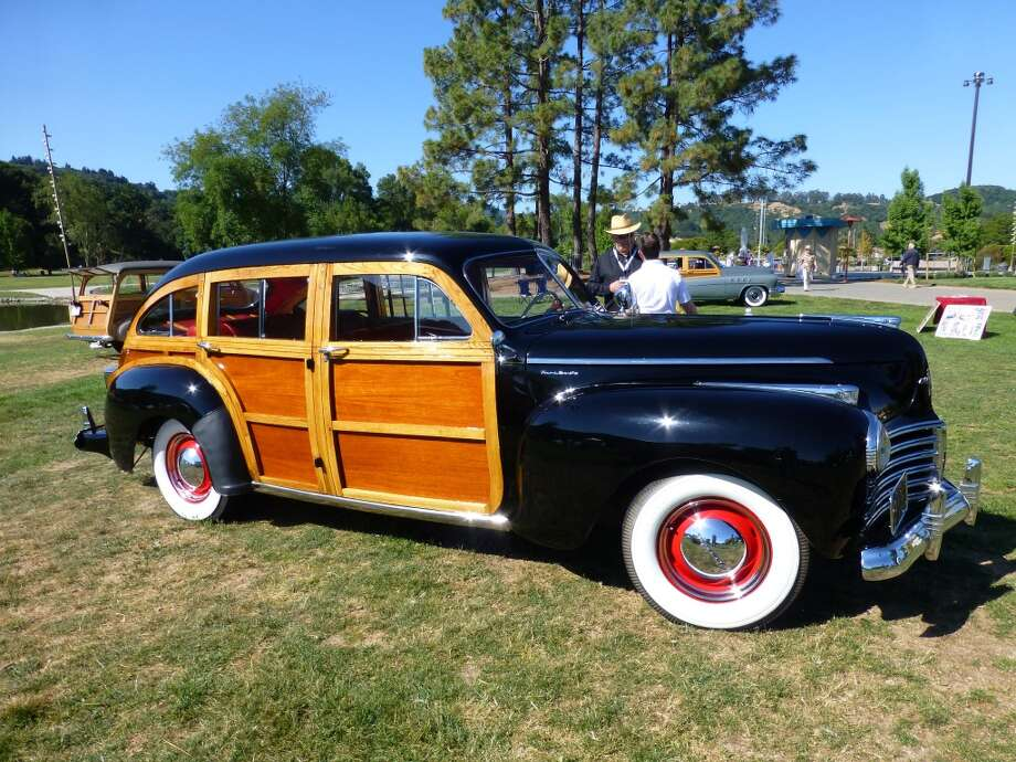 1941 Chrysler Town and Country wagon, one of only 200 six-passenger models made. Owner: Terry Neeley, Sausalito, Calif.