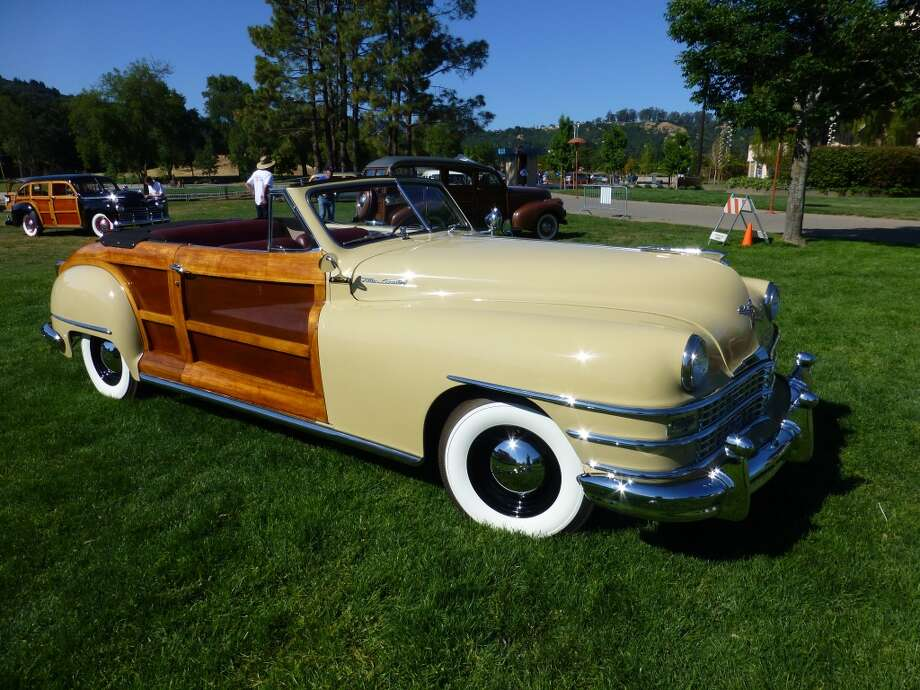 1947 Chrysler Town & Country convertible. Owner: Bernadette Machado, Sausalito, Calif.