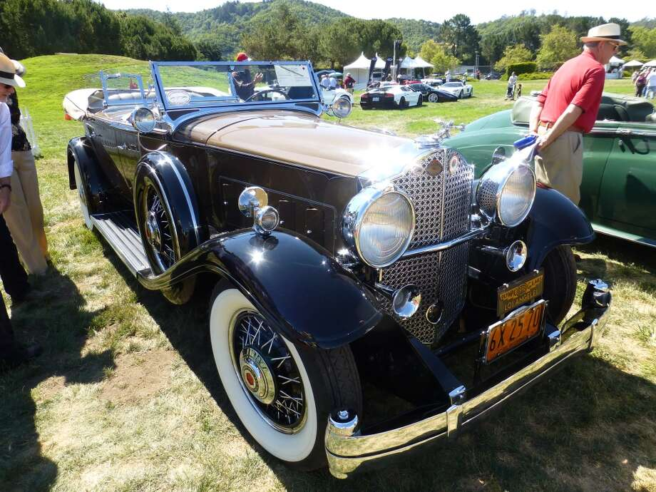 1932 Packard 903 Deluxe Eight Sport Phaeton that was owned by Jean Harlow. Now owned by Clifford and Joyce Gooding, Marina del Rey, Calif.