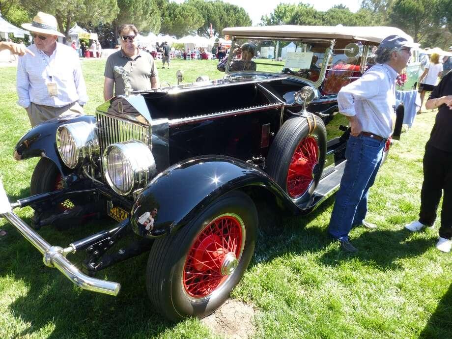 1928 Rolls-Royce Phantom 1 Touring. Owners: Theo and Gordon Johnson, Alamo, Calif.