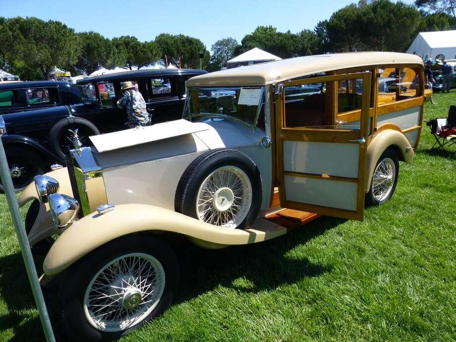 1929 Rolls-Royce Shooting Brake. Surf's up. Owner: John B. Carey, San Jose, Calif.