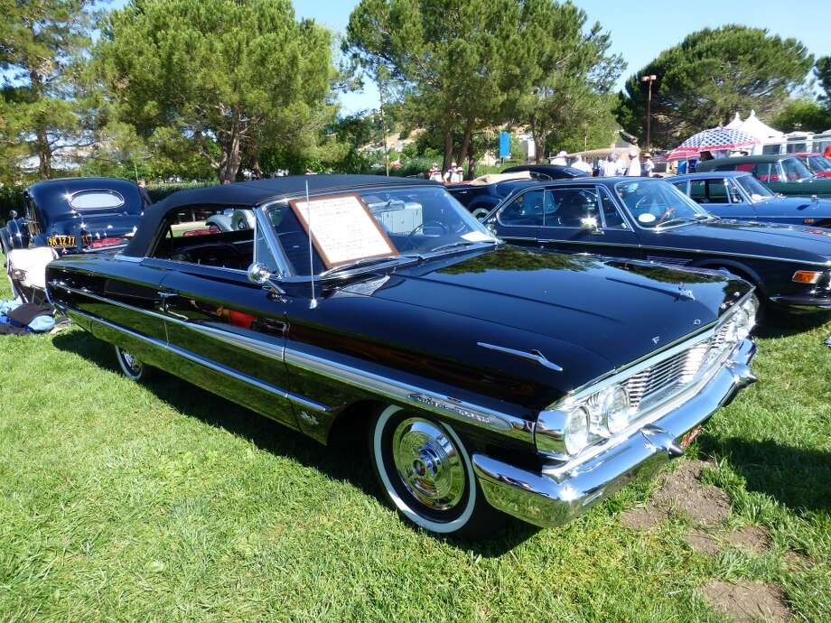 1964 Ford Galaxie convertible, with 21,000 miles on the odometer. Owners: Jim and Gloria Barron, Redwood City, Calif.