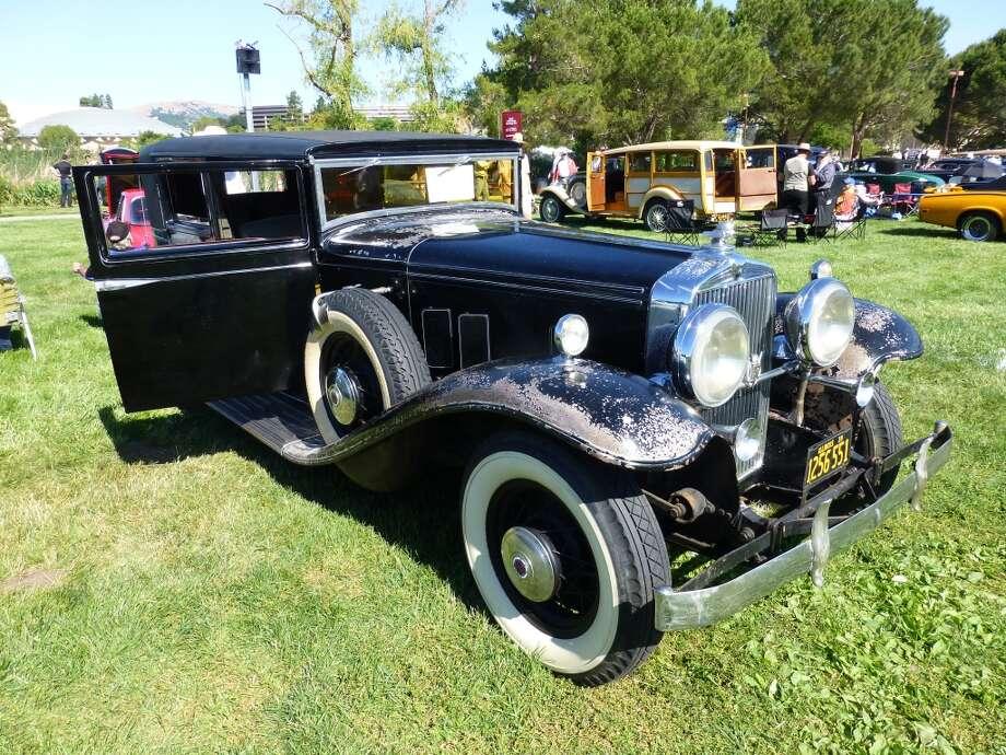 1932 Stutz DV-32 long-wheelbase sedan. Owner: Jim Callahan, Oakland, Calif.
