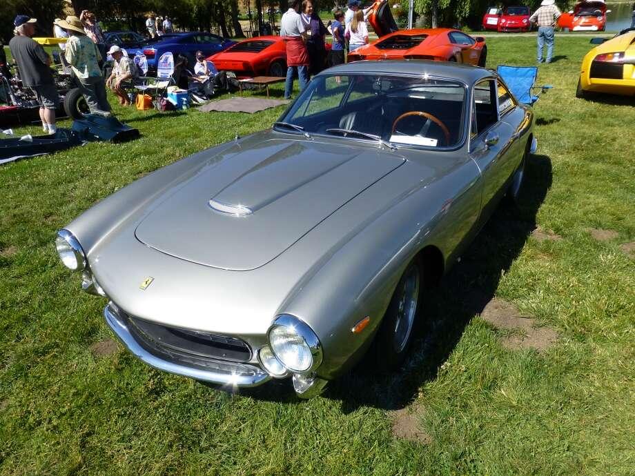 1964 Ferrari Lusso. Owner: Terry Tusher, Honolulu.