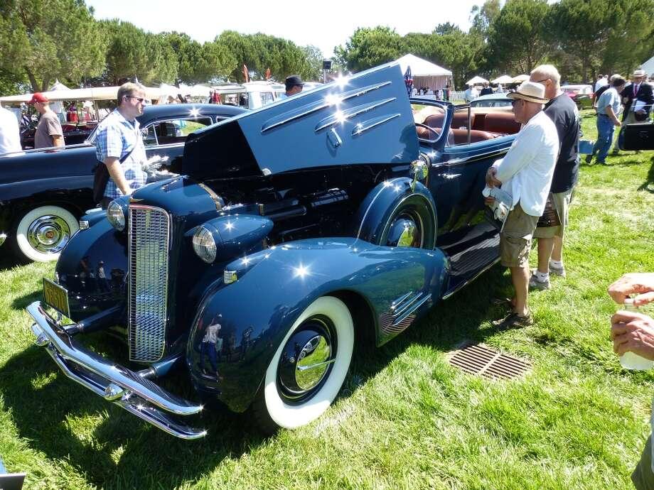 1934 Cadillac 452D convertible. Owner: James Gately, Sacramento, Calif.