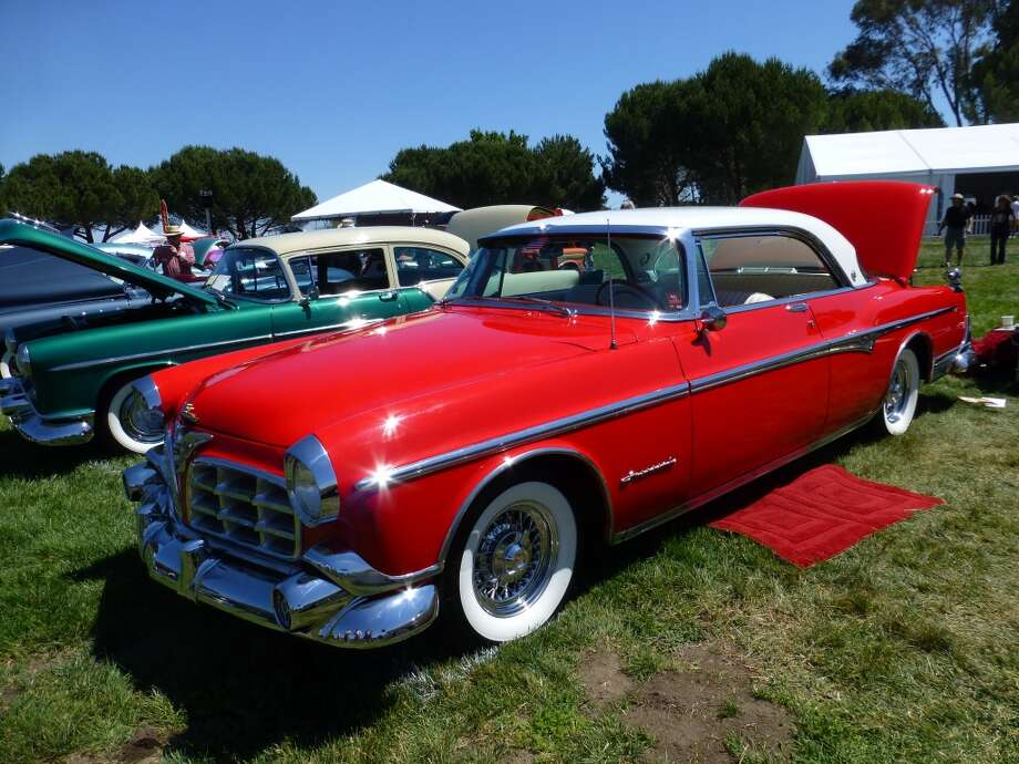 1955 Imperial owned by John and Susan Swensson, Saratoga, Calif.