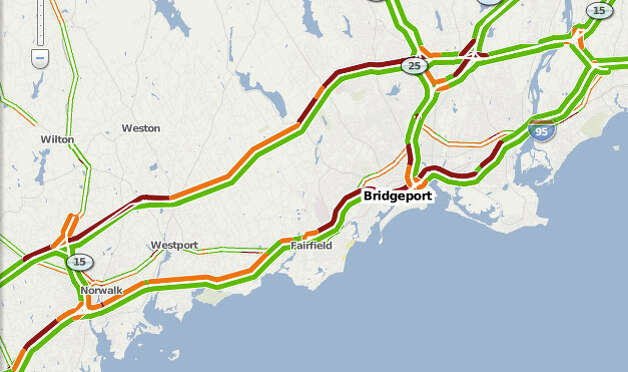 Commutes take to the highways in light of the Metro-North outage between Bridgeport and South Norwalk. See more on our Beat The Traffic page.
