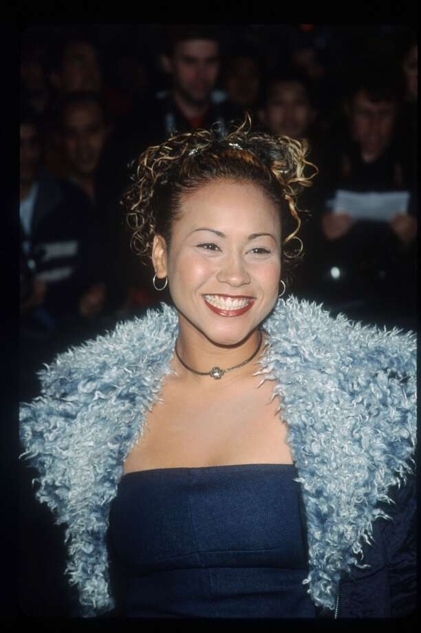 New MTV VJ Thalia Dacosta poses April 19, 1999 in New York City.