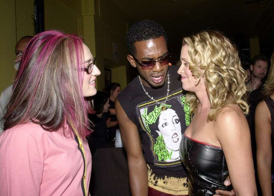 MTV VJ Kennedy, Bill Bellamy, & Jenny McCarthy during MTV20: Live and Almost Legal - Backstage. MTV celebrated with a three-hour live party with special guests, performances, and highlights from the past 20 years of MTV. at The Hammerstein Ballroom in New York City.