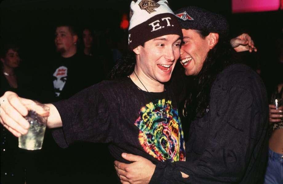 Steve Isaacs, MTV VJ during Steve Isaacs at Club USA - 1992 at Club USA in New York City.