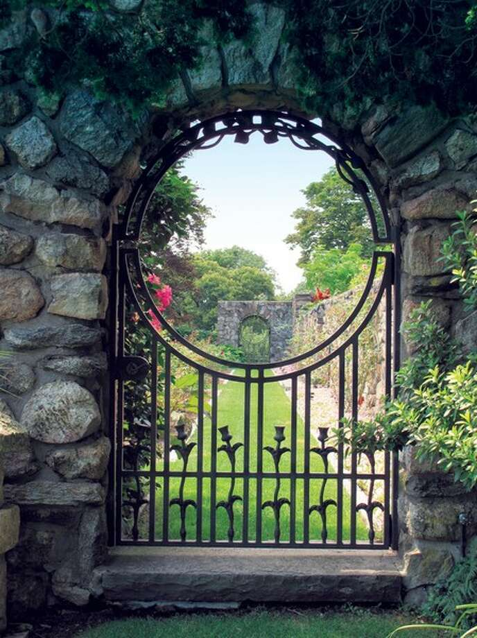 One of many gated gardens. Photo Via David Ogilvy.com