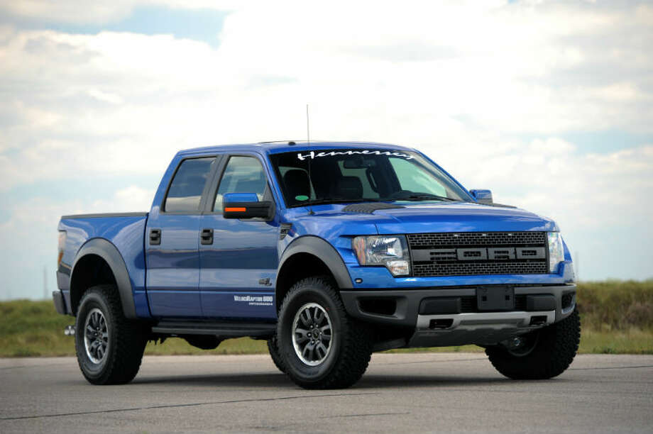 Ford F-150 Raptor VelociRaptor 600 is a modified Ford F-150 with plenty of power under the hood and off-road capabilities. Photo: Hennessey Performance