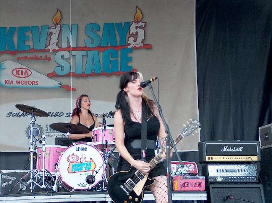 Girl-fronted groups. Photo: Mike Damante