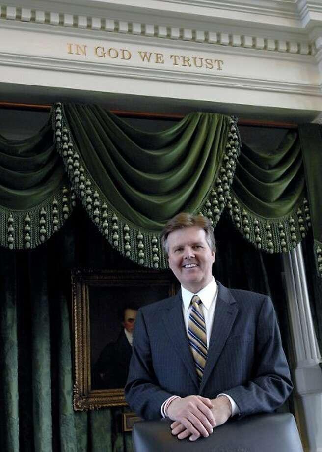 Sen. Dan Patrick Photo: Handout