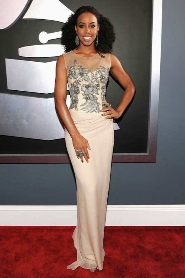 Singer Kelly Rowland arrives at the 54th Annual GRAMMY Awards held at Staples Center on February 12, 2012 in Los Angeles, California. Photo: Larry Busacca / 2012 Getty Images