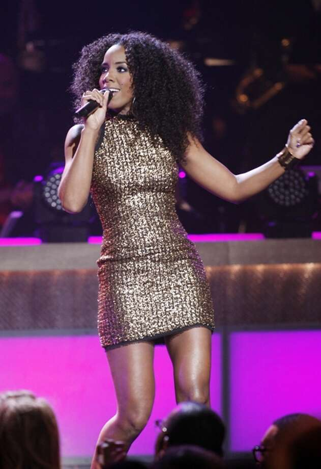 Singer Kelly Rowland performs during the BET Honors at the Warner Theatre in Washington on Saturday, Jan. 14, 2012. Photo: Jose Luis Magana
