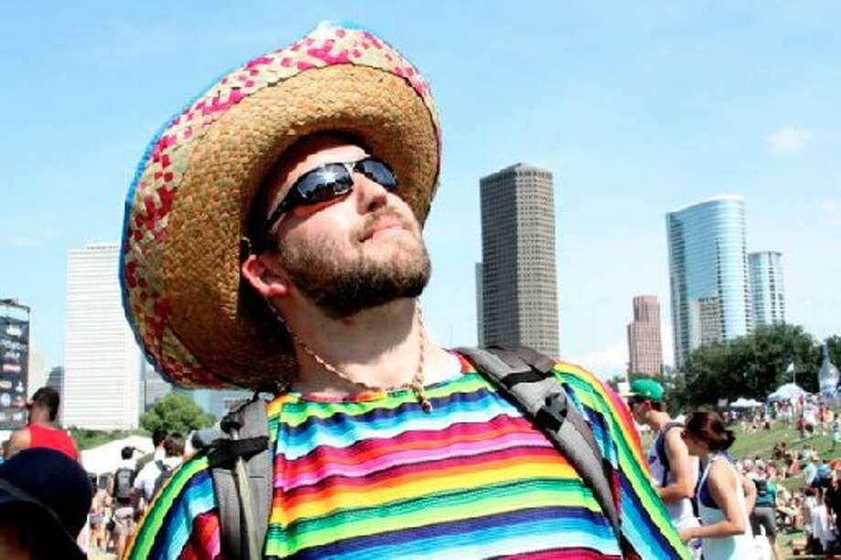 Sombrero guy.