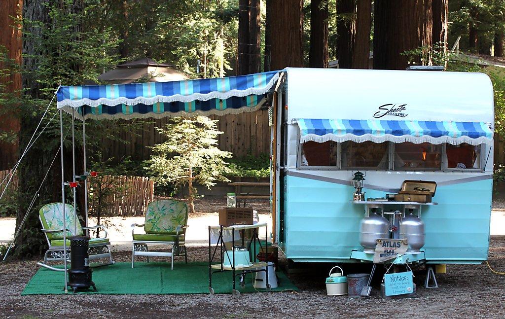 Happy Campers Restoring Vintage Trailers Sfgate