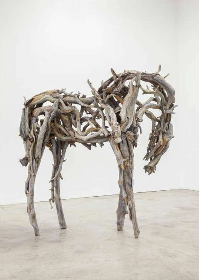 Sculptor Deborah Butterfield personifies Anglim's capability of wringing commercial successes from artistic brilliance. Photo: Gallery Paule Anglim