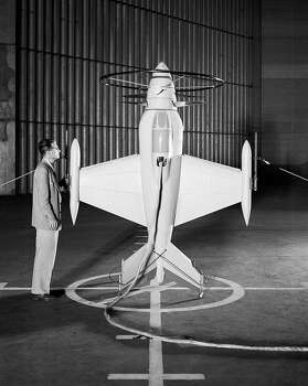 Free-flight investigation of 1/4-scale dynamic model of XFV-1 in NACA Ames