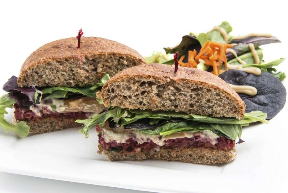 At lunch: Build a better sandwich.