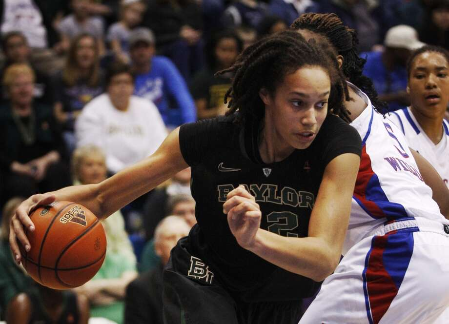 Griner was named the Big 12 Player of the Year three times. Photo: Orlin Wagner, Associated Press