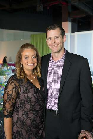 Suzanne McKechnie Klahr and Josh Klahr at The BUILD Gala on May 17, 2013. Photo: Drew Altizer Photography