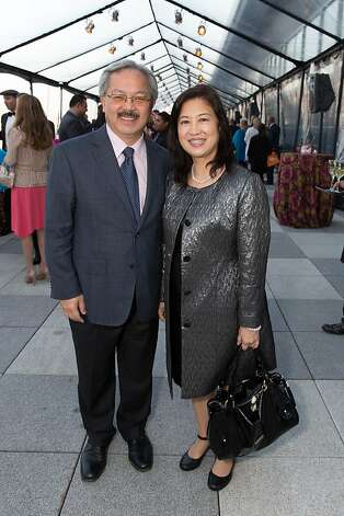 Mayor Ed Lee and Anita Lee at The BUILD Gala on May 17, 2013. Photo: Drew Altizer Photography