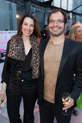 Shannon Bavaro and Ali Partovi at The BUILD Gala on May 17, 2013. Photo: Drew Altizer Photography