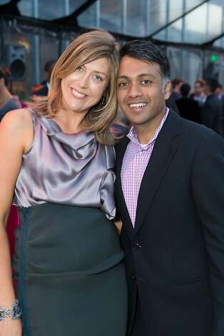 Kate Agarwal and Ajay Agarwal at The BUILD Gala on May 17, 2013. Photo: Drew Altizer Photography