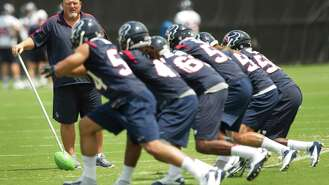 Texans go back to the grindstone