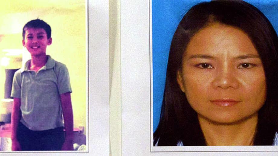"Slain victims Brandon Vu, 10, andLe ""Lena"" Nguyen, 41. They were killed inside an Alief home. (Handout photos) / © 2013 Houston Chronicle"