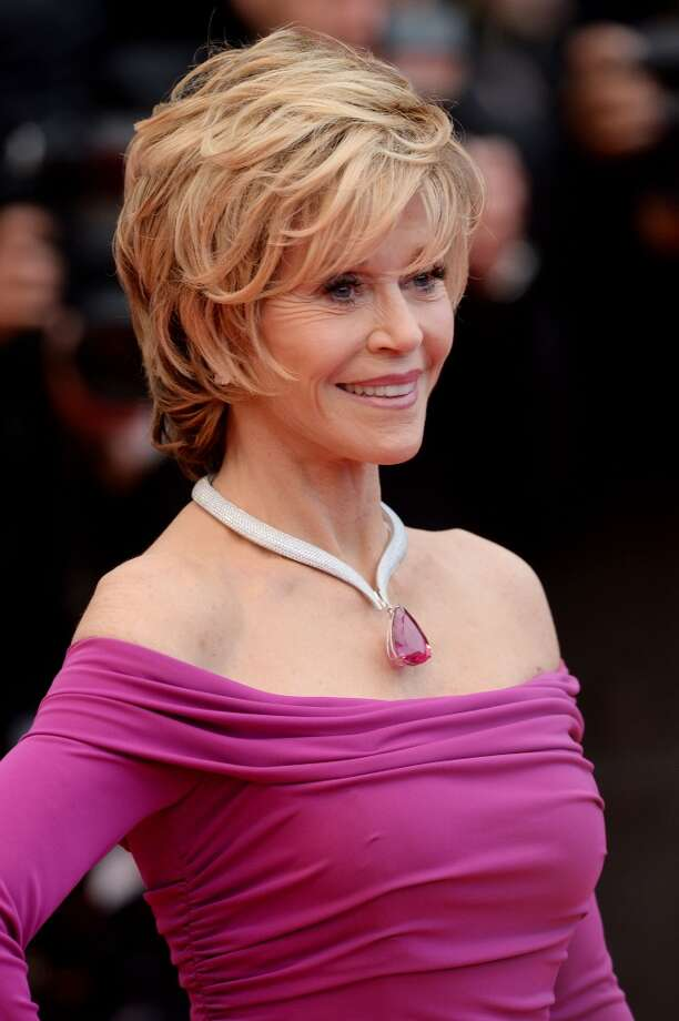 "Actress Jane Fonda attends the ""Inside Llewyn Davis"" Premiere during the 66th Annual Cannes Film Festival at Grand Theatre Lumiere on May 19, 2013 in Cannes, France."