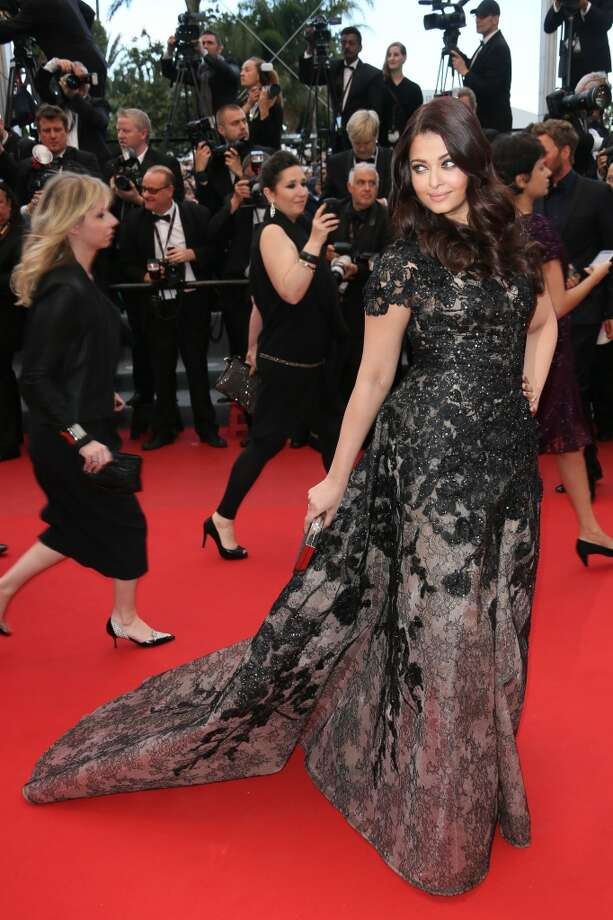 Aishwarya Rai attends the Premiere of 'Inside Llewyn Davis' at The 66th Annual Cannes Film Festival on May 19, 2013 in Cannes, France.