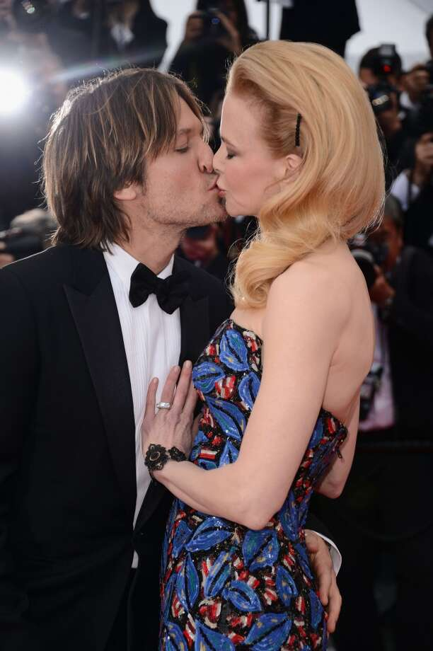 "Keith Urban and Nicole Kidman attend the ""Inside Llewyn Davis"" Premiere during the 66th Annual Cannes Film Festival at Grand Theatre Lumiere on May 19, 2013 in Cannes, France."