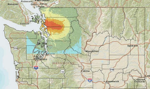 Earthquake Washington State