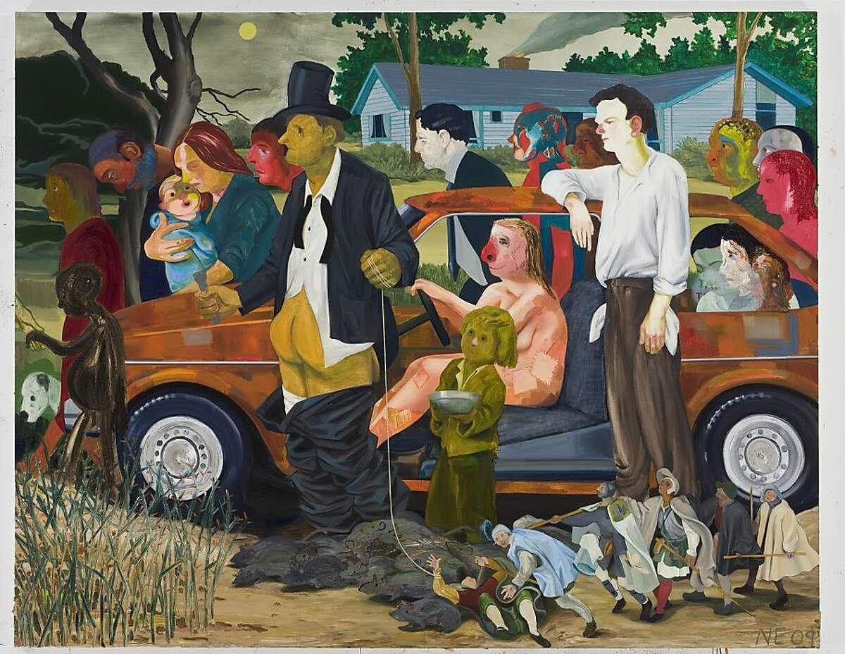 Nicole Eisenman: The Triumph of Poverty Nicole Eisenman: The Triumph of Poverty, 2009; oil on canvas, 65 82 in.; collection of Dr. Thomas J. Huerter.