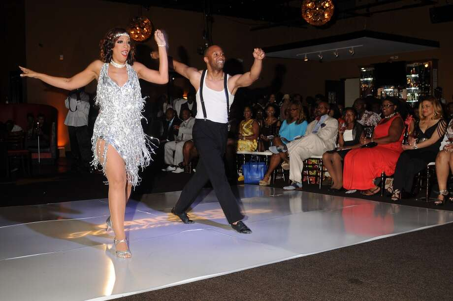 2012 winners Jade Gold dances and Byron Lundy