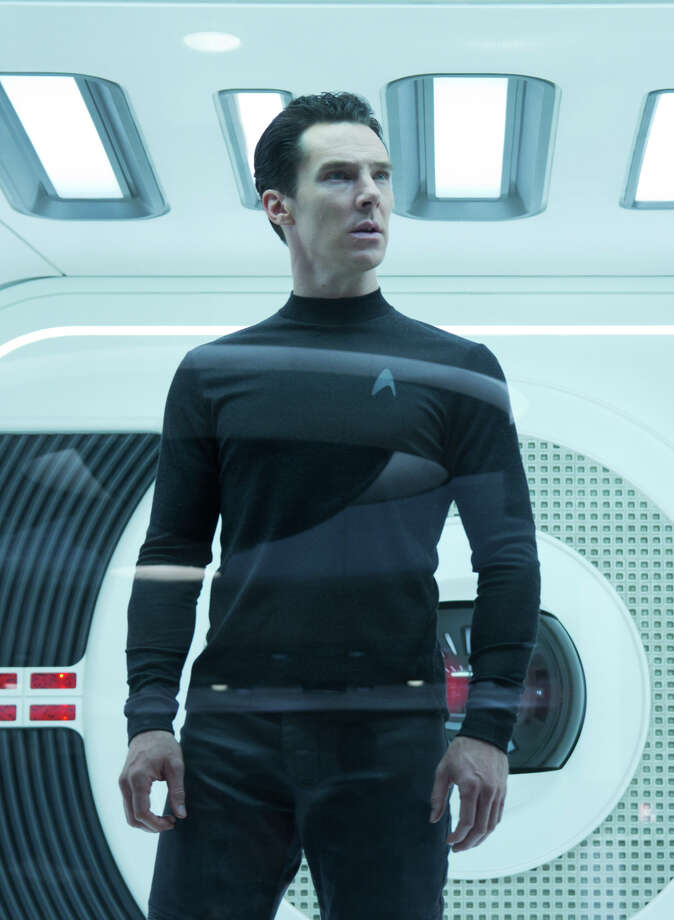 "This undated publicity film image released by Paramount Pictures shows Benedict Cumberbatch as John Harrison in a scene in the movie, ""Star Trek Into Darkness,"" from Paramount Pictures and Skydance Productions. (AP Photo/Paramount Pictures, Zade Rosenthal) Photo: Zade Rosenthal"