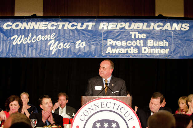 The annual Connecticut GOP Prescott Bush Awards dinner at the Stamford Hilton Hotel in Stamford on Monday, May 20, 2013. Photo: Amy Mortensen / Connecticut Post Freelance