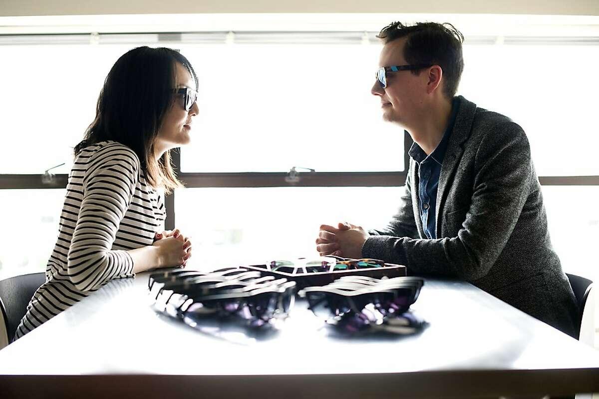 Westward Leaning's Karlygash Burkitbayeva and Robert Denning met at Stanford Business School.